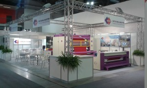 Stand ITMA 2015 Officina Master