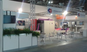 Stand ITMA 2015 Officina Master 2